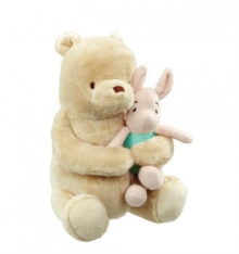 Lullaby Winnie The Pooh & Piglet Soft Toy,  Book