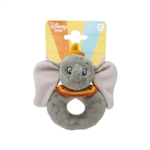 Disney Baby Dumbo Ring Rattle,  Book