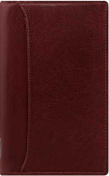FILOFAX PERSONAL SLIM LOCKWOOD GARNET OR,  Book