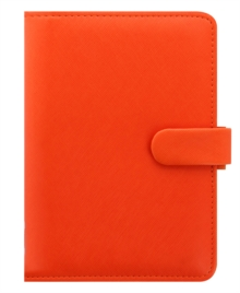 FILOFAX SAFFIANO PERSONAL BRIGHT ORANGE,  Book