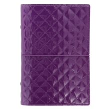PERSONAL DOMINO LUXE ORGANISER PURPLE,  Book