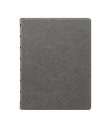 FILOFAX A5 REFILLABLE NOTEBOOK CONCRETE,  Book