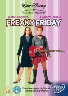 Freaky Friday, DVD  DVD