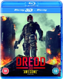 Dredd, Blu-ray  BluRay