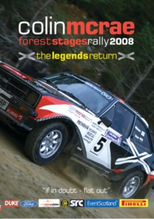 Colin McRae: Stages Rally 2008, DVD  DVD