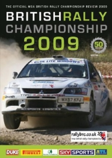 British Rally Championship 2009, DVD  DVD
