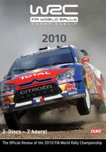 World Rally Review: 2010, DVD  DVD