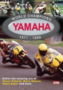 Yamaha World Champions 1977-1980, DVD  DVD