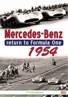 Mercedes Benz Return to Formula One 1954, DVD  DVD