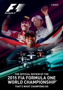 FIA Formula One World Championship: 2015 - The Official Review, DVD DVD