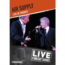 Air Supply: Live in Toronto, DVD  DVD