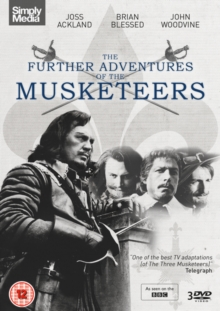 The Further Adventures of the Musketeers, DVD DVD