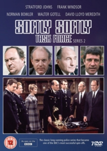 Softly Softly Task Force: Series 2, DVD DVD