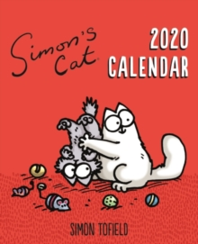 Simon's Cat Easel Desk Calendar 2020, Calendar Book
