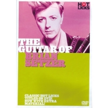The Guitar of Brian Setzer - Hot Licks, DVD DVD