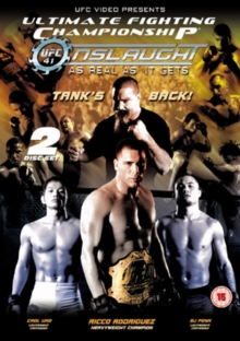 Ultimate Fighting Championship: 41 - Onslaught, DVD  DVD