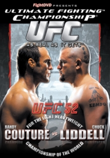 Ultimate Fighting Championship: 52 - Couture Vs Liddell, DVD  DVD