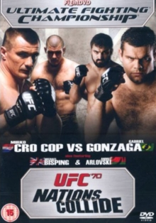 Ultimate Fighting Championship: 70 - Nations Collide, DVD  DVD