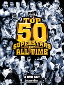 WWE: The Top 50 Superstars of All Time, DVD  DVD