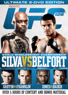 Ultimate Fighting Championship: 126 - Silva Vs Belfort, DVD  DVD