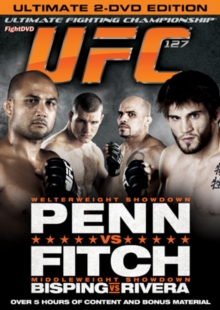 Ultimate Fighting Championship: 127 - Penn Vs Fitch, DVD  DVD