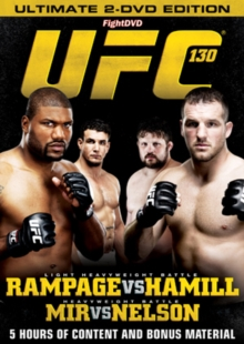 Ultimate Fighting Championship: 130 - Rampage Vs Hamill, DVD  DVD