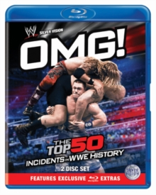 WWE: OMG! - The Top 50 Incidents in WWE History, Blu-ray  BluRay