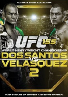 Ultimate Fighting Championship: 155 - Dos Santos Vs Velasquez, DVD  DVD