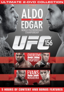 Ultimate Fighting Championship: 156 - Aldo Vs Edgar, DVD  DVD