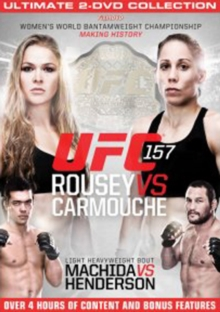 Ultimate Fighting Championship: 157 - Rousey Vs Carmouche, DVD  DVD