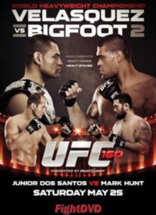 Ultimate Fighting Championship: 160 - Velasquez Vs Bigfoot, DVD  DVD