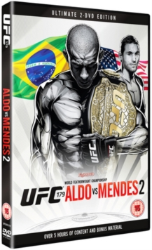 Ultimate Fighting Championship: 179 - Aldo Vs Mendes, DVD  DVD