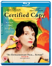 Certified Copy, Blu-ray  BluRay