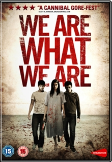 We Are What We Are, DVD  DVD