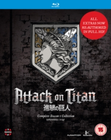 Attack On Titan: Complete Season One Collection, Blu-ray BluRay