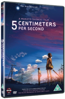 5 Centimetres Per Second, DVD  DVD