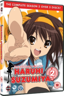 The Melancholy of Haruhi Suzumiya: Complete Season 2, DVD DVD