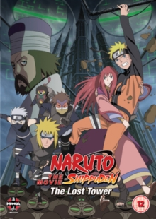 Naruto - Shippuden: The Movie 4 - The Lost Tower, DVD  DVD