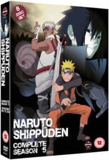 Naruto - Shippuden: Complete Series 5, DVD  DVD