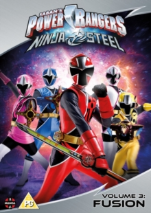 Power Rangers Ninja Steel: Volume 3 - Fusion, DVD DVD