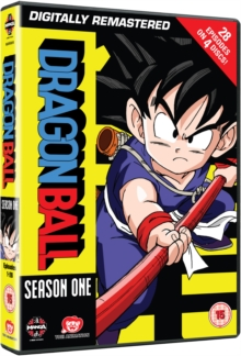 Dragon Ball: Season One, DVD DVD