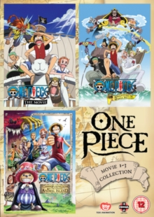 One Piece: Movie Collection 1, DVD  DVD