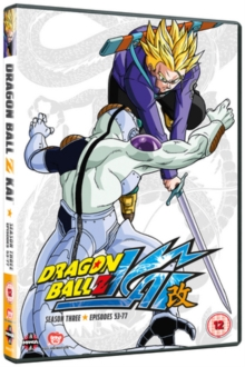 Dragon Ball Z KAI: Season 3, DVD  DVD