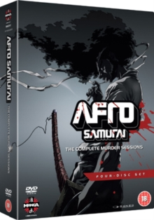 Afro Samurai: The Complete Murder Sessions, DVD  DVD