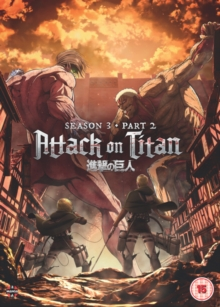 Attack On Titan: Season 3 - Part 2, DVD DVD