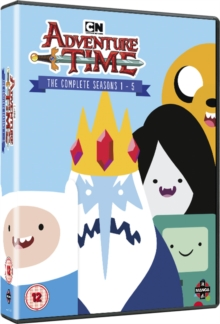 Adventure Time: The Complete Seasons 1-5, DVD DVD