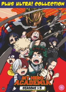 My Hero Academia: Plus Utra! Collection - Seasons 1-3, DVD DVD
