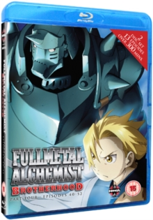 Fullmetal Alchemist Brotherhood: Part 4, Blu-ray BluRay
