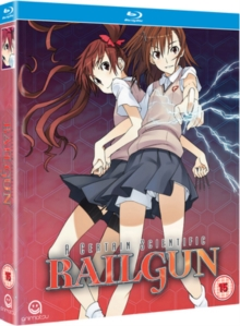 A   Certain Scientific Railgun: Season 1, Blu-ray BluRay