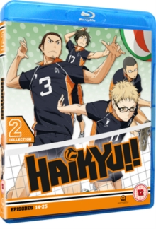 Haikyu!! - Season 1: Collection 2, Blu-ray BluRay